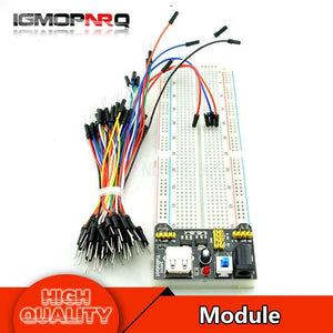 1Pcs Mb102 Breadboard 830 Hole + Module +65 Line Connection Diy Special Kit Production
