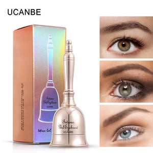 3 Colors Bell Shaped Eyebrow Gel Makeup Long Lasting 3D Eyes Brow Tint Cream Waterproof Enhance Cosmetic With Brush