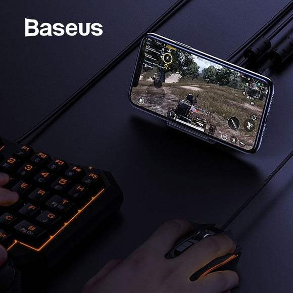 Baseus Mobile Game Control Transfer Station for Android & iOS ( Enjoy mobile game with Mouse and Keyboard )