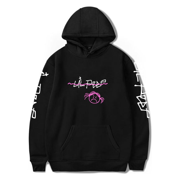 Lil Peep Hoodies Love Lil.Peep Men Sweatshirts Hooded Streetwear Pullover Sweatershirts Women Sudaderas Cry Baby Hoddie Cotton Polyester - Xodey