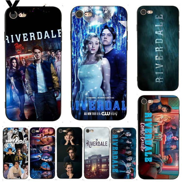Yinuoda For Iphone 7 6 X Case Tv Show Riverdale Dominant Protector Phone Case For Iphone X 6 7 6S 7Plus 8 8Plus 5 5S 5C Se - Xodey.com