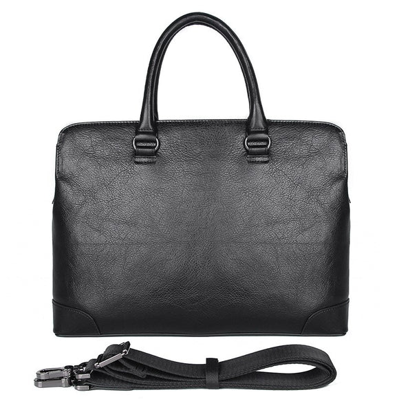 Men's Briefcase Male Genuine Leather Men Bags Messenger Bag Leather Laptop Bag for Men Document Bags 7406A