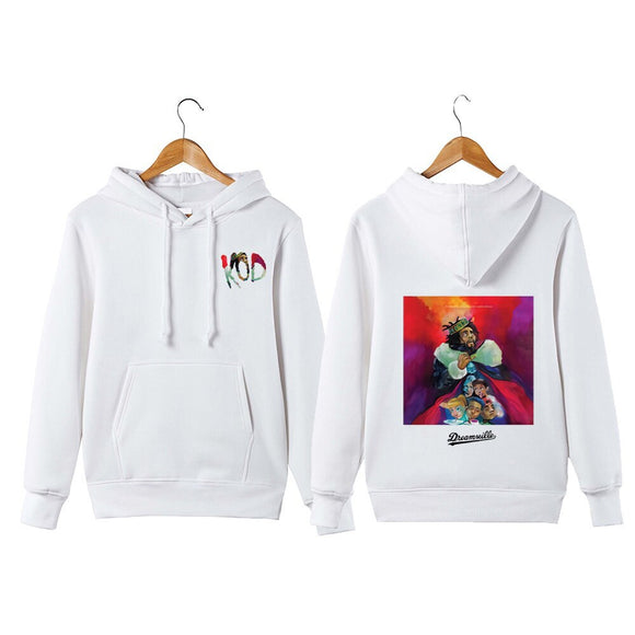 Men's J Cole Hoodie Sweatershirt King Cole Dreamville Hip Hop Kod Pullover Hoodie Sweatershirt - Xodey