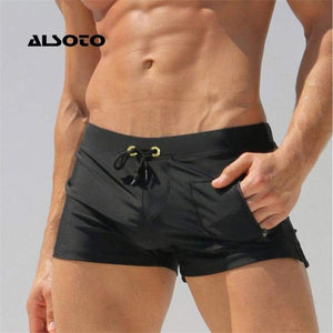 Also Too Sexy Man Swimwear Men's Swimsuits Swimming Trunks Sunga Mens Swim Briefs Beach Shorts Mayo Suits Gay Pouch