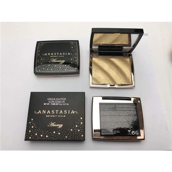Anastasia Makeup Beverly Hills Amrezy Highlighter Rosewood Powder Glow Kit Contour Palette Face Cosmetic