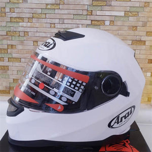 Arai Full - Helmet Dual Lens Motorcycle Super High End Safety Helmets Unisex