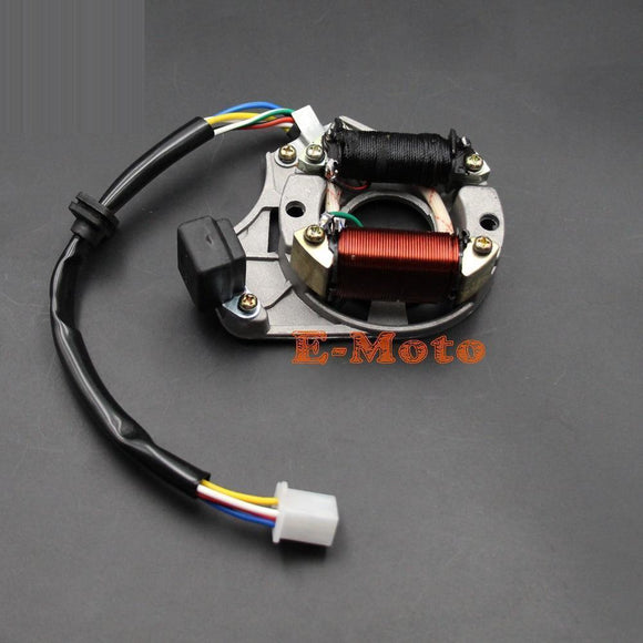 Atv Quad Stator Ignition Magneto Plate 50 70 90 110 125 110Cc Chinese 2 Coil - Taotao E-Moto