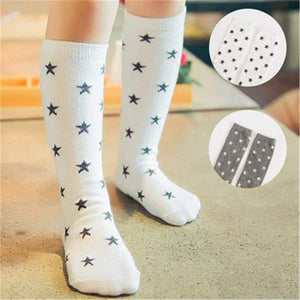 Baby Boy Soccer Socks For Girls Striped Colorful Rainbow Cotton School White Long Children Shoes Fo