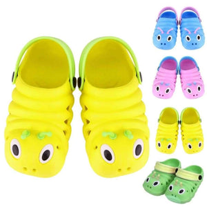Baby Sandals Summer Caterpillar Animal Cartoon Style Children Beach Shoes For 0 To 6 Months Babies