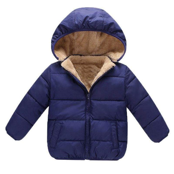 Biblical Baby Boys Winter Coats Outerwear Hooded Parkas Jackets Thicken Warm Outer Clothing