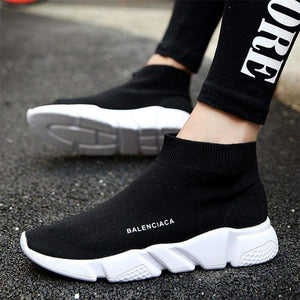 Breathable Sport Athletic Running Shoe For Men Unisex Mesh Female Sock Sneakers Outdoors Jogging Trainers