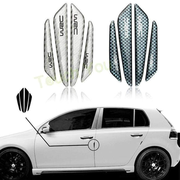 Car Sticker Door Protector Side Edge Protection Guards Stickers For Universal Carbon Fiber Accessories Auto