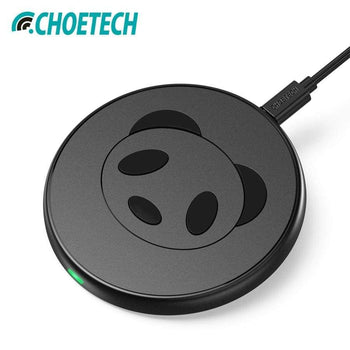 Choetech 7.5W Qi Wireless Charger For Iphone X 8 Plus 10W Fast Charging Pad Galaxy S8 Note S7 Edge S6 (Universal)
