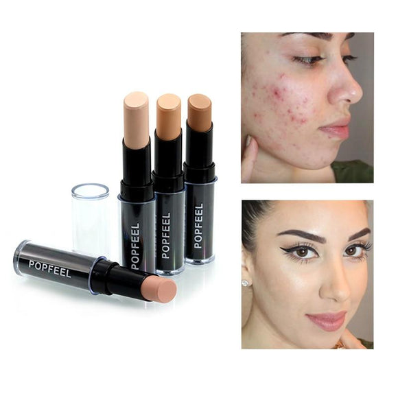 Concealer Stick Face Foundation Pen Maquiagem Make Up Camouflage Pen Maquillaje Smooth Contour Concealer Makeup Set