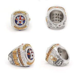 Custom Championship Ring Houston Astros Baseball World Series Rings For Springer/Altuve/Crane Size 8-14