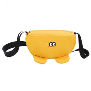 Cute Shape Kids Waist Bag Baby Boys Girls Cartoon Fanny Packs Children Crossbody Chest Belt