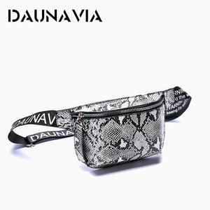 Daunavia Waist Pack Serpentine Bags Women Designer Belt Chest Bag Mini Diagonal Women's Luxury Shoulder