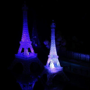 Eiffel Tower Night Light Led