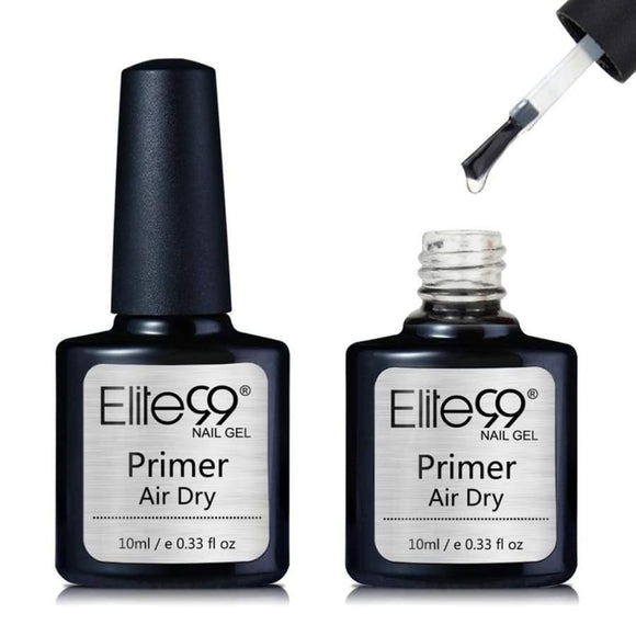 Elite99 10ml Fast Air Dry Primer UV LED Gel Base No Need Of UV/LED Lamp Soak Off Nail Polish For Art Design