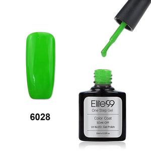 Elite99 60 Candy Colors Long-Lasting Varnish Top Coat Nail Polish 10ml