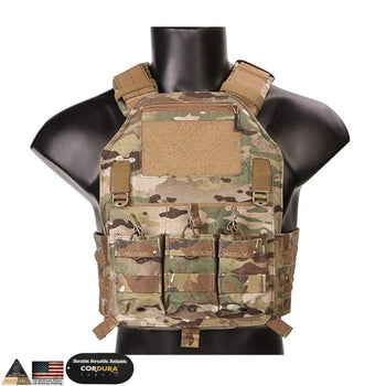 Emersongear Molle Vest 420 Plate Carrier Hunting Military Paintball Tactical Chest Rig Multicam Tropic Emerson