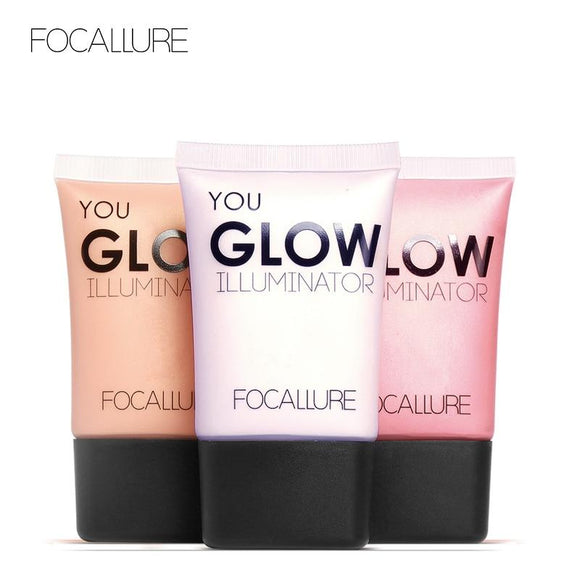Face liquid highlighter waterproof liquid cream face contour Illuminator professional Glow kit highlight makeup