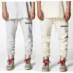 Fear Of God Sweatpants Hip Hop Streetwear Drawstring Essentials 18Ss Men Women Joggers Pants