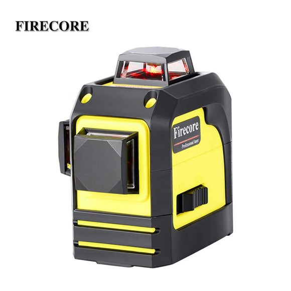 Firecore 12Lines 3D F93Tr Laser Level Self-Leveling 360 Horizontal And Vertical Cross Super Powerful Red Beam Line