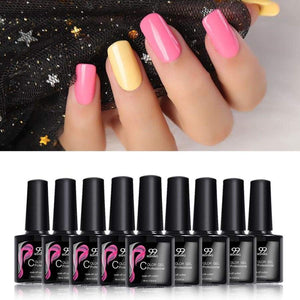 Gel nail polish UV gel Manicure led color soak off varnish No Wipe Top coat and base MSHING99