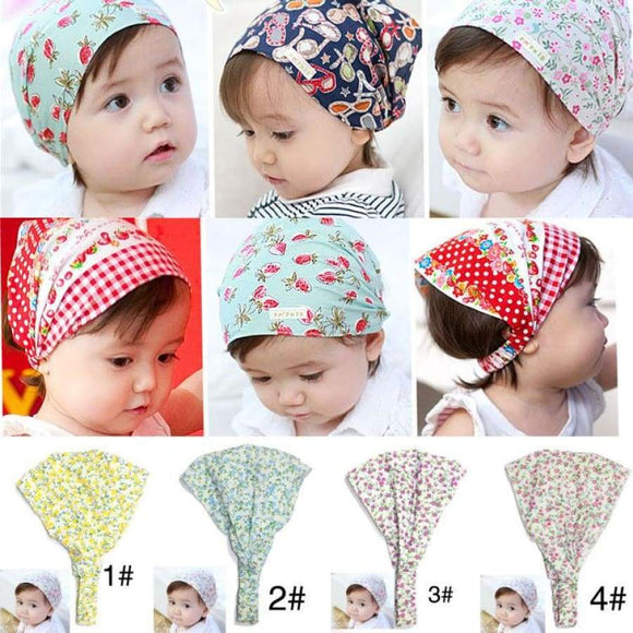 Girls Summer Autumn Baby Hat Girl Boy Cap Children Hats Toddler Kids Scarf Accessories #25