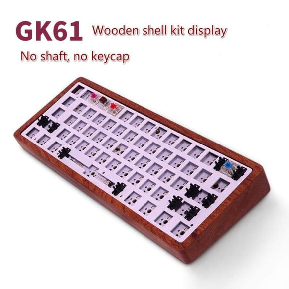 GK61 (same GK64) Mechanical Keyboard DIY Kit Hot Swap Independent Driver Tyce-c Interface GH60 RGB