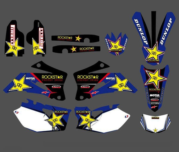 Graphics & Backgrounds Decals Stickers Kits For Yamaha Wr250F Wr450F 2007 2008 2009 2010 2011 Wr 250F 450F Wr250 Wr450 F