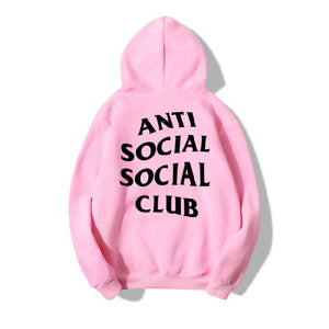 Hot Selling Anti Social Club Hoodie Men's Cotton Fleece Sports Hoodie