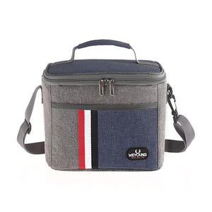 Insulated Thermal Cooler Lunch box bag for work Picnic bag Bolsa termica loncheras para for school student