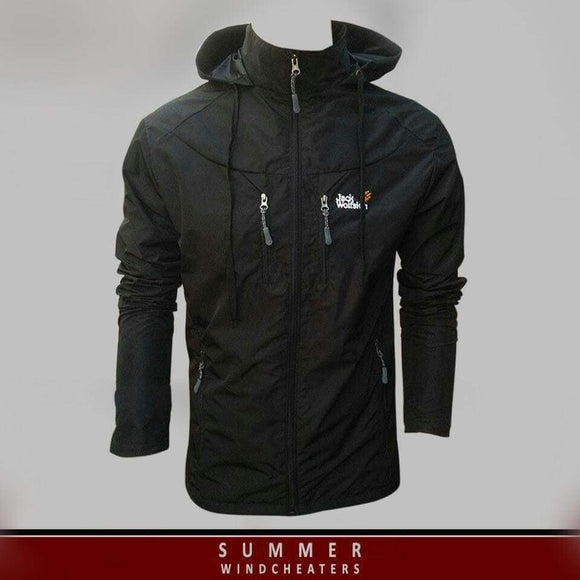 Jack Wolfskin Jacket Windcheater/Windbreaker For Summer