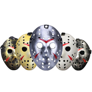 Jason Voorhees Mask Halloween Horror Masks Party Maske Masquerade Cosplay Friday The 13Th Scary Masque Funny Terror Mascara Prop