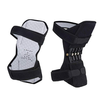 Joint Support Knee Pads Breathable Non-slip Power Lift Joint Support Powerful Rebound Knee Brace Spring Force Knee Booster
