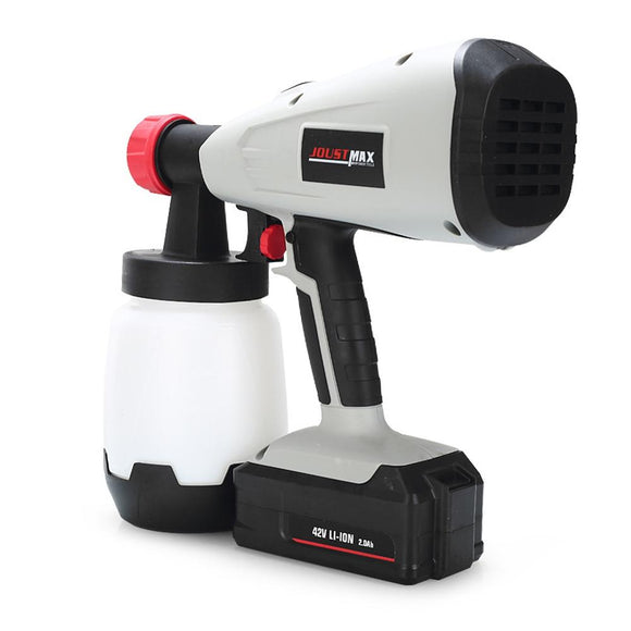JOUSTMAX Hand-held 42V Li-ion High Pressure Spray Gun (MULTI EU PLUG)