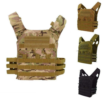Jpc Tactical Vest Airsoft Combat Hunting Molle Chest Rig Protective Plate Carrier Military Outdoor Gear Vests