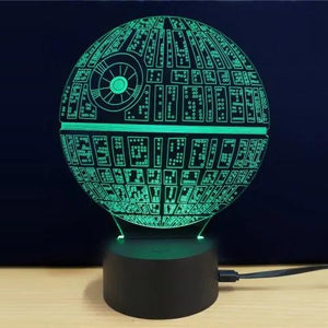 LED 3D Acrylic Ambient Lamp Night Light (MULTI)
