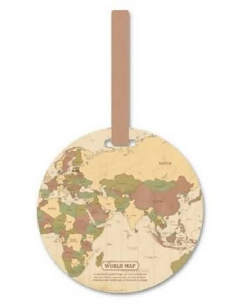 Luggage Map Tag Holder