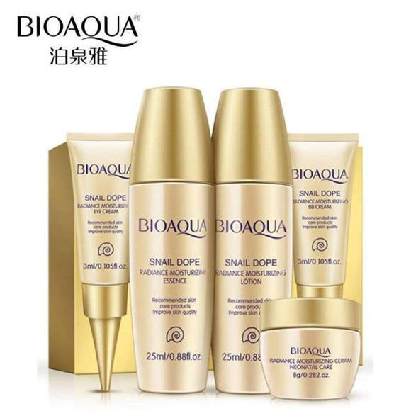 Luxury Set 5Pcs Skin Care Whitening Moisturizing Face Cream Anti Wrinkle Aging Eye Nude Makeup Bb Concealer