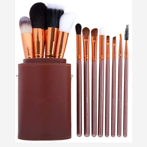 Makeup Brushes professional Make up brush Set 12pcs Brushes for Makeup Powder Foundation Eyeshadow Brushes With Pencil Holder