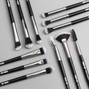 Makeup brushes set professional 12 pcs/lot Make up brushes Eye Shadow Blending Eyeliner Eyelash Foundation Brush For Makeup Tool