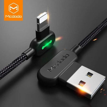 Mcdodo 3M 2.4A Fast Usb Cable For Iphone X Xs Max Xr 8 7 6S Plus 5 Charging Mobile Phone Charger Cord Data