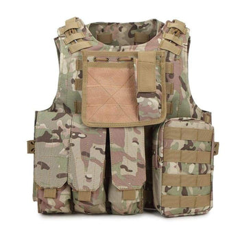 Military Body Armor Plate Carrier Tactical Vest Hunting Molle Mag Ammo Chest Rig Paintball Army Harness Outlife