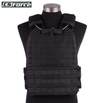 Military Tactical Adjustable Molle Vest Chest Rig Protective Plate Carrier Jpc Wargame Airsoft Paintball Hunting Combat Vests