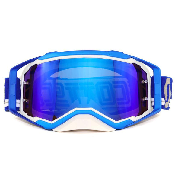 Motocross Off-Road ATV Dirt Bike MX Downhill DH Goggles Ski Snowboard Glasses Motorcycle Racing Eyewear Replaceable Lens