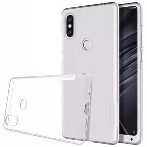 Nillkin Nature Tpu Transparent Soft Back Cover Case For Xiaomi Mix 2S