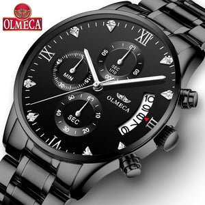 Olmeca Men Watches Luxury Famous Top Men's Casual Dress Watch Military Quartz Wristwatches Saat